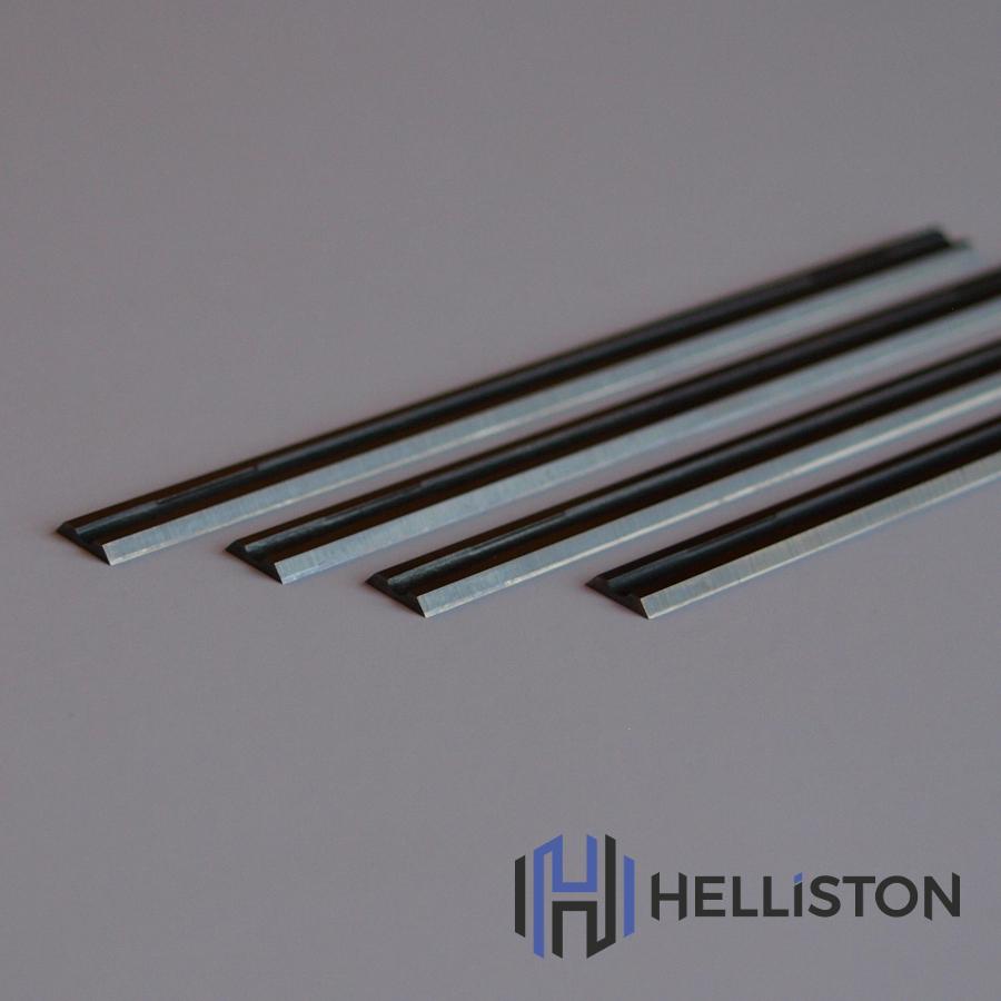 HM Profihobelmesser 82mm, Wolframcarbid, Wendemesser, Ersatzmesser für Elektrohobel (für: AEG, Bosch, Makita, Hitachi, Mafell, Metabo, Skil etc.)