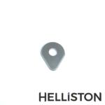 Helliston Ersatzklinge für Farbschaber, Farbschbaberklinge, Birne, Birnenform, birnenförmig (für Bahco, Sandvik, Storch, Friess-Techno...)